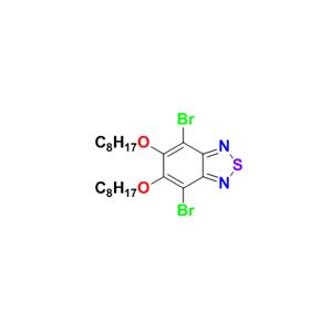 4,7-二溴-5,6-双(辛氧基)苯并[c] [1,2,5]噻二唑
