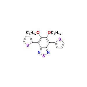 5,6-双(辛氧基)-4,7-双(2-噻吩基)苯并[c][1,2,5]噻二唑
