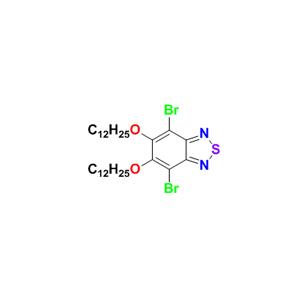 4,7-二溴-5,6-双(十二烷氧基)苯并[c][1,2,5]噻二唑
