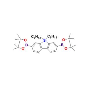2,7-双(硼酸频哪醇酯)-9,9'-二己基-9H-9-硅杂芴