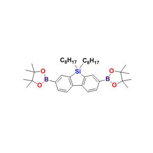 2,7-双硼酸频哪醇酯-9,9'-二辛基-9H-9-硅杂芴