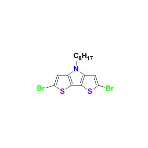2,6-二溴-N-辛基-二噻吩并[3,2-b:2,3-d]吡咯