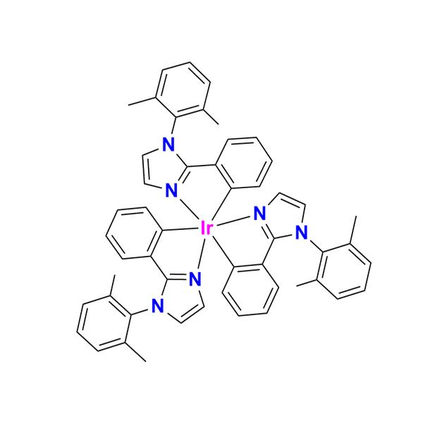 三[1-(2,6-二甲基苯基)-2-苯基-1H-咪唑]合铱(III)