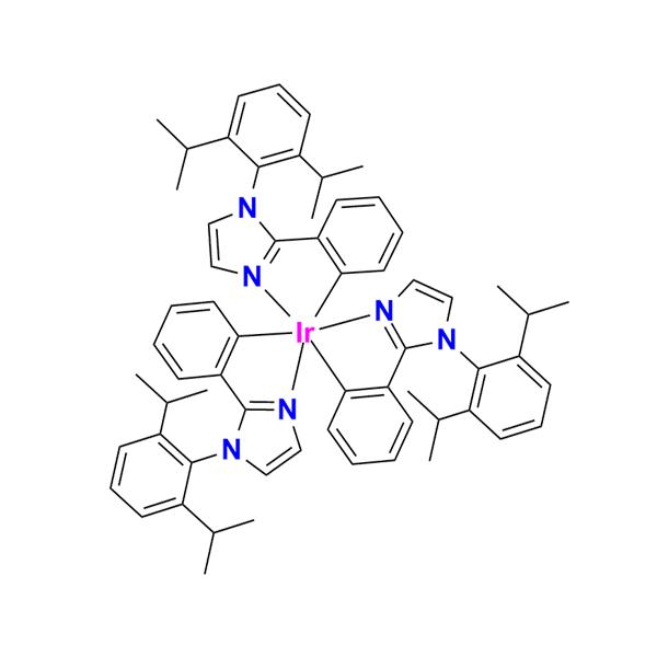 三[1-(2,6-二异丙基苯基)-2-苯基-1H-咪唑]合铱