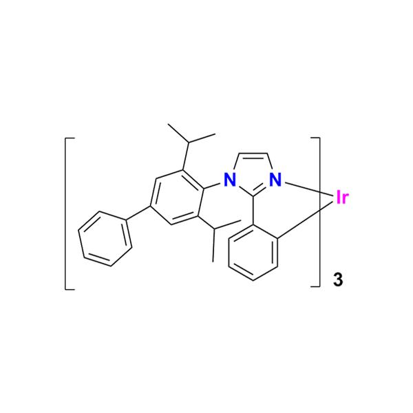 三[2-[1-[3,5-二异丙基[1,1'-联苯]-4-基]-1H-咪唑-2-基]苯基]铱