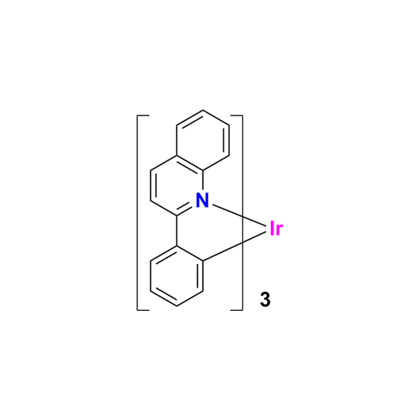 三(2-苯基喹啉)合铱